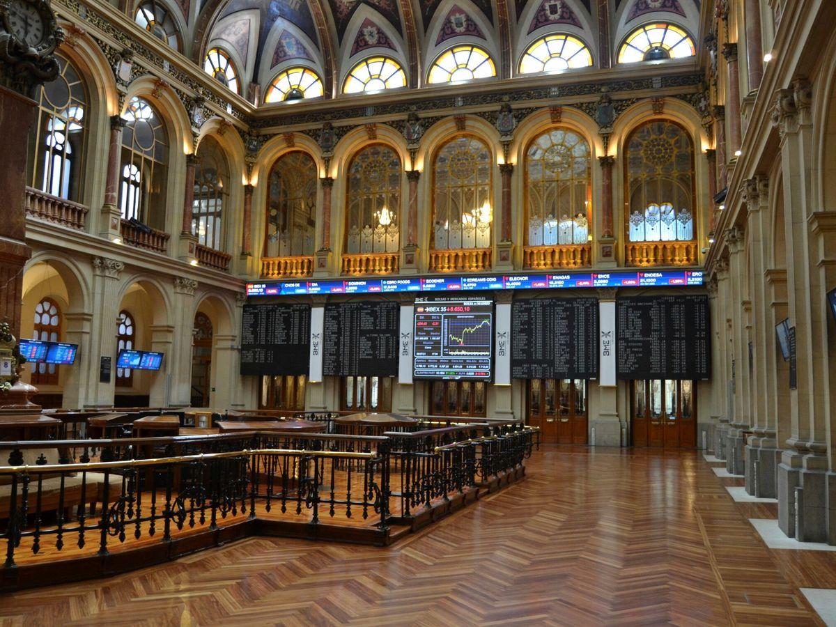 Foto: Bolsa de Madrid. (EFE)
