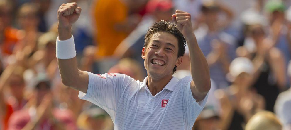 Nishikori, el niño que jugaba en Florida sin hablar inglés, da lustre por fin al tenis asiático