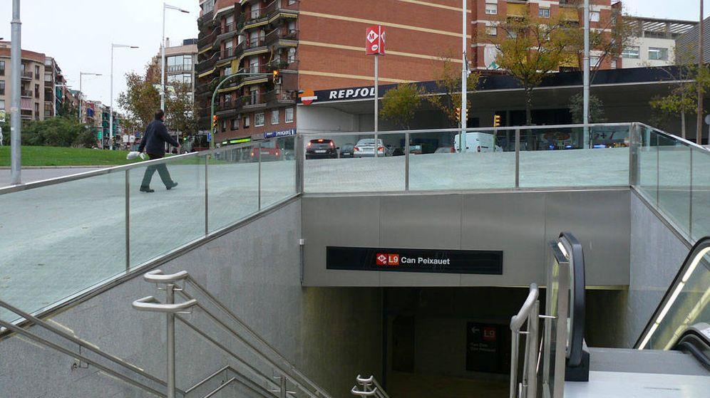 Foto: Estación en la que ha tenido lugar el suceso. (Trescat)