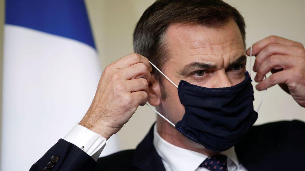 Foto: El ministro de Salud galo, Olivier Véran. (Reuters)