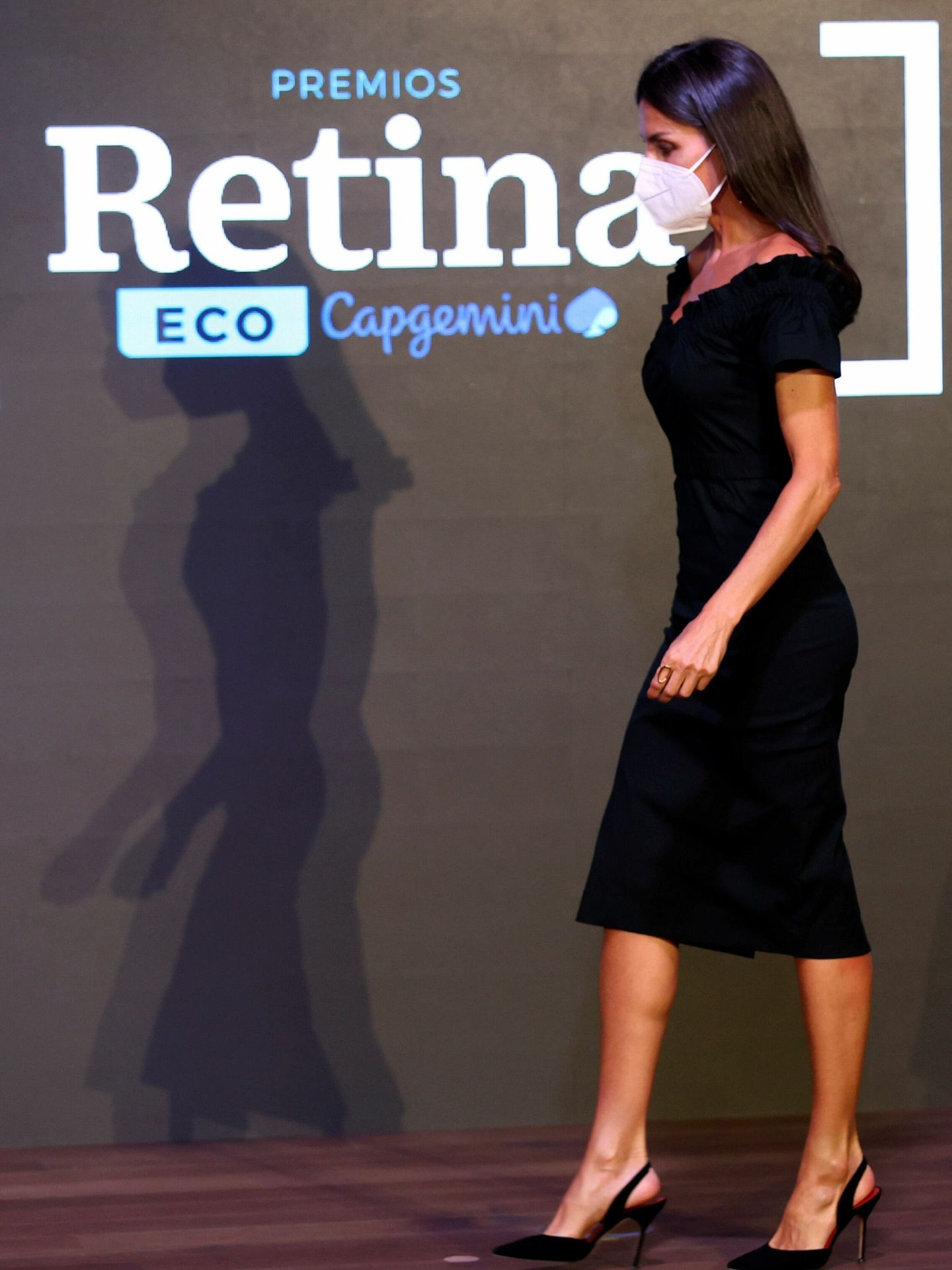 Letizia, en los Premios Retina ECO. (EFE)