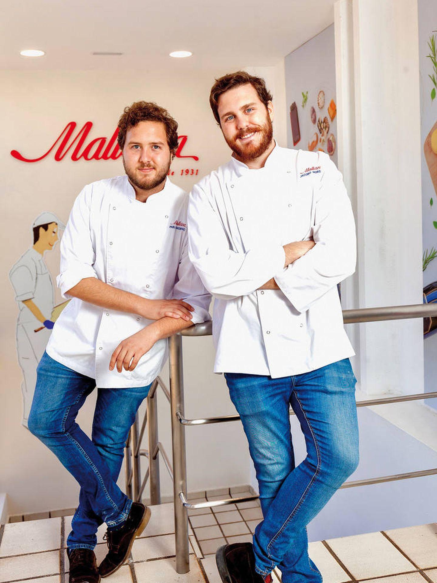 Pablo y Jacobo Moreno, cuarta generación al frente de Mallorca. (Cortesía)