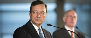 Foto: La banca española, en manos de Draghi: la deuda con el BCE sube otro 15% desde abril