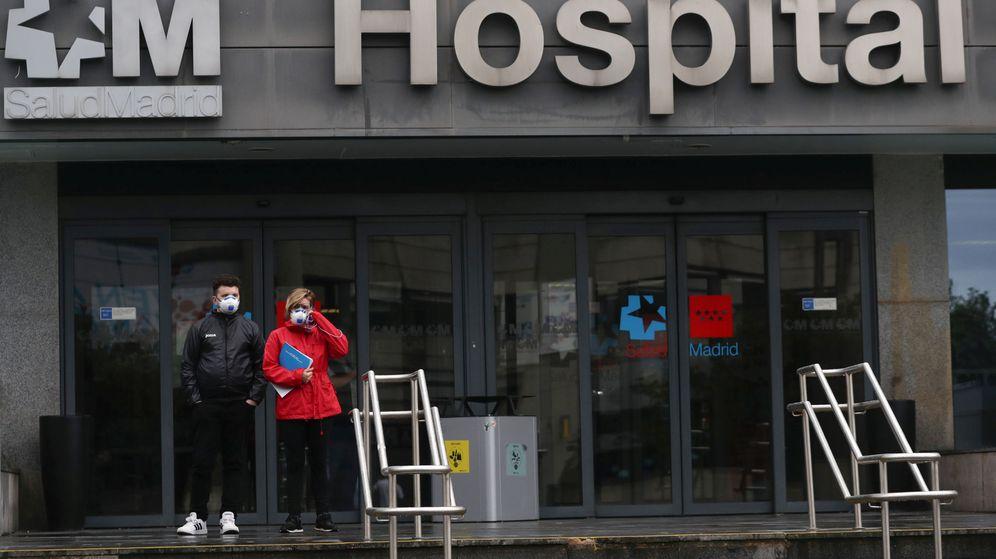 Foto: Los hospitales de Madrid empiezan a estar desbordados. (Reuters)