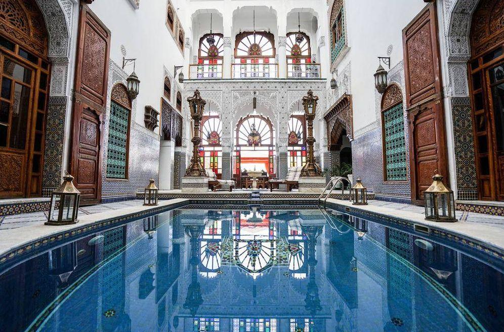 Foto: En Fez te esperan los mejores riads y la bella y tan antigua ciudad amurallada. (Cortesía)