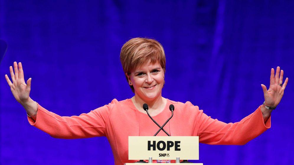 Foto: La primera ministra escocesa, Nicola Sturgeon. (Reuters)