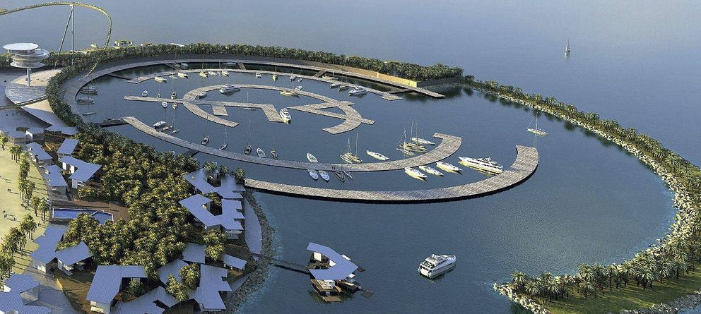 Foto: Recreación del Real Madrid Resort Island (EFE)