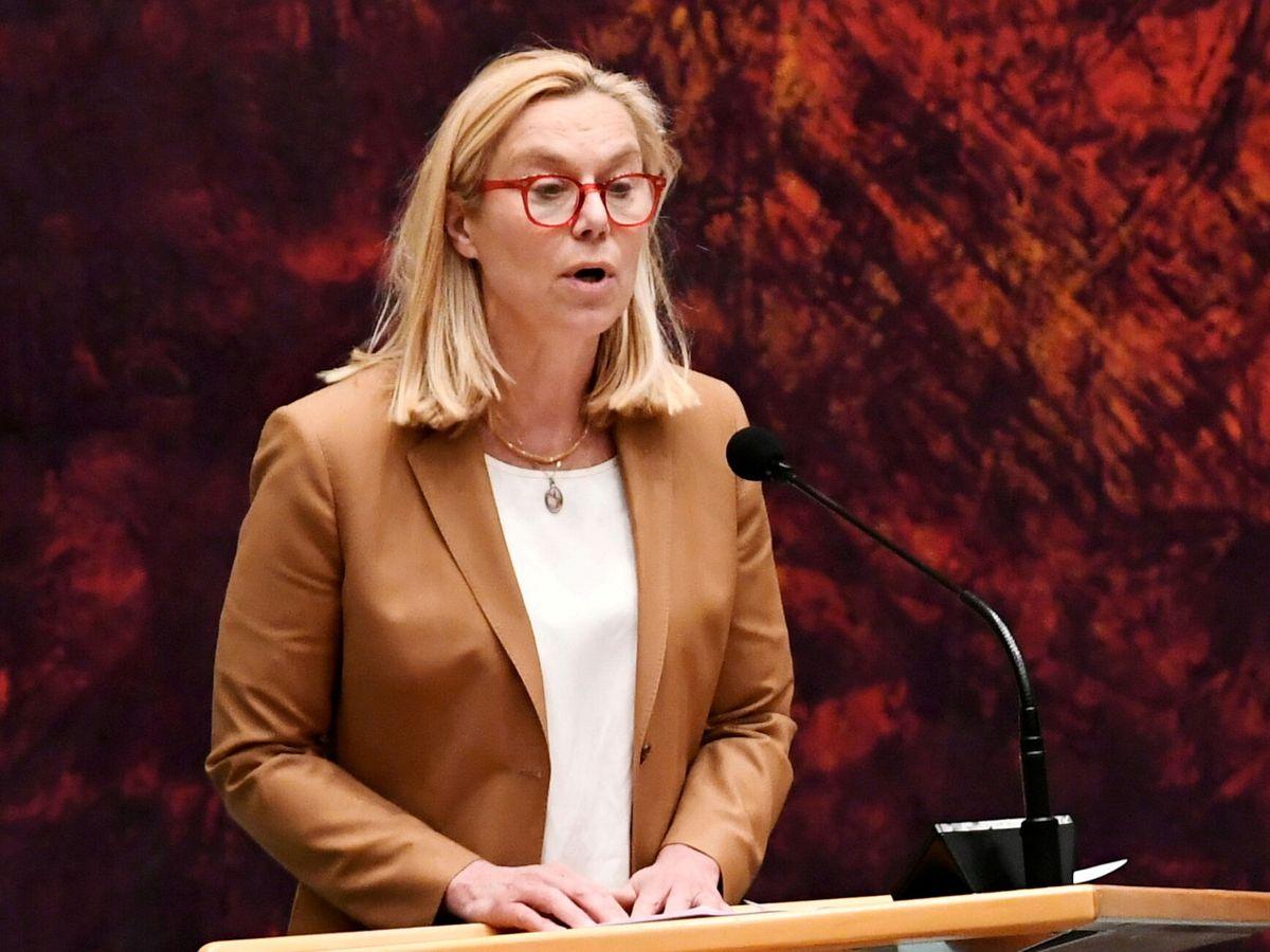 Foto: Sigrid Kaag, ministra de Comercio Exterior y Cooperación al Desarrollo de Países Bajos. (Reuters)