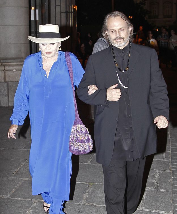 Foto: Lucía Bosé y su hijo Miguel en una imagen de archivo (Gtres)