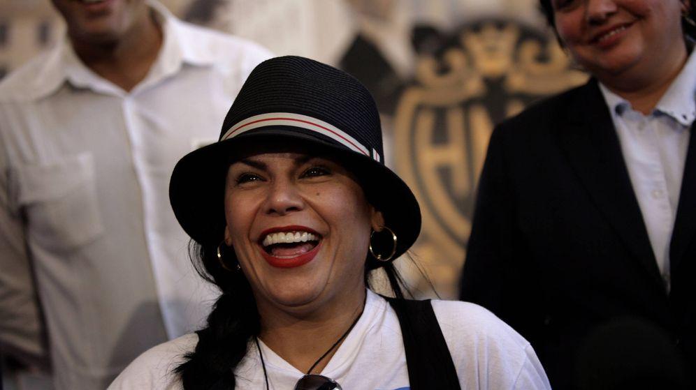 Foto: La cantante Olga Tañón en una imagen de archivo. (Gtres)