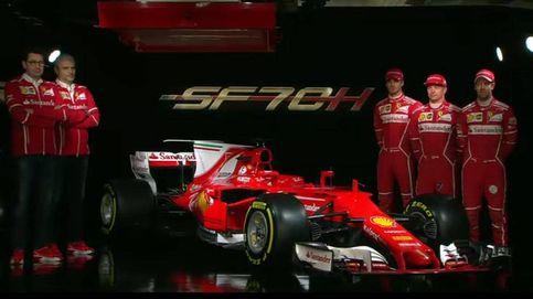 Ferrari presenta el SF70H, su monoplaza más agresivo para pelear por el Mundial