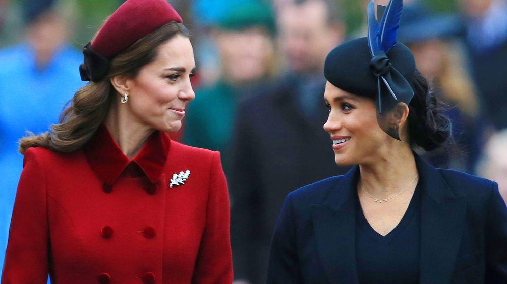 Foto: Kate Middleton y Meghan Markle en una imagen de archivo. (Getty)