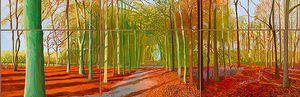 El Guggenheim se rinde ante los paisajes de Hockney