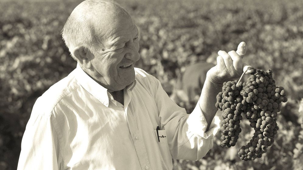 Foto: Alejandro Fernández posa en sus viñedos. (Cortesía)