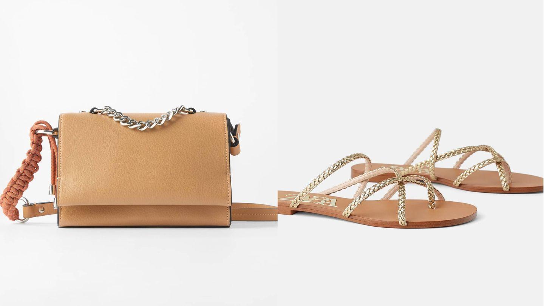 Dos opciones más accesibles de Zara. (Cortesía)