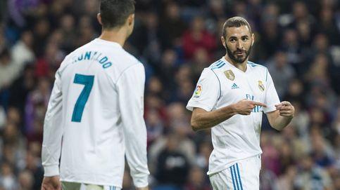 Al vestuario blanco le extraña la pasada de frenada de Zidane con Benzema