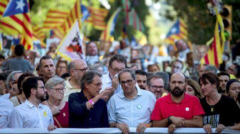 Torra califica la Justicia española de indecente en la marcha por los presos