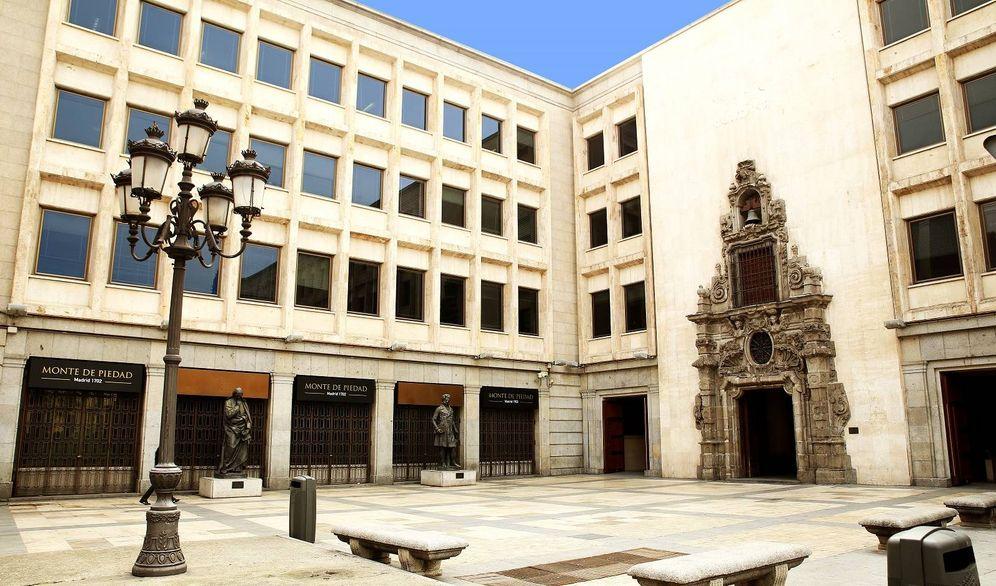 Foto: Imagen de la antigua sede de Fundación Montemadrid que acaba de vender a KKH Property (Fuente CECA)