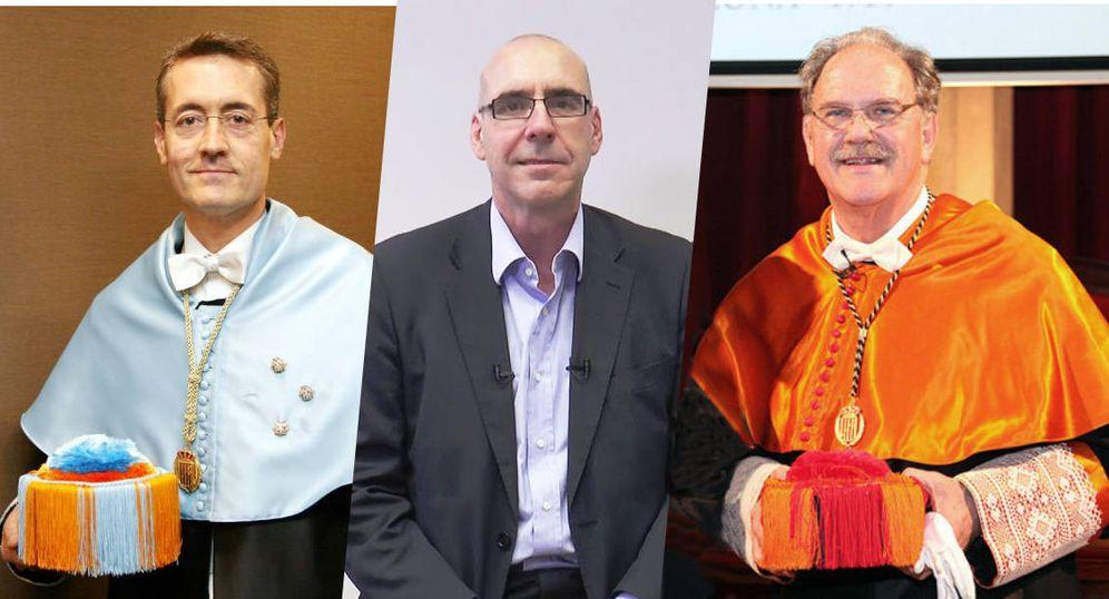 Foto: José Daniel Barquero Cabrero (i), Adolfo Sánchez Burón (c) y Alfredo Rocafort Nicolau.