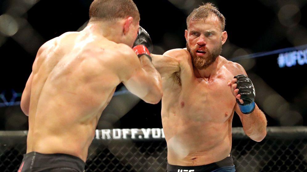 Foto: Donald Cerrone venció a Al Iaquinta por KO en UFC Ottawa. (USA TODAY Sports)