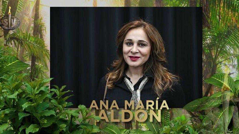 Ana María Aldón, en una imagen promocional de 'Supervivientes 2020'. (Mediaset)