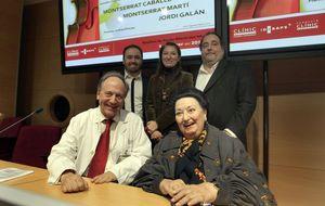 Montserrat Caballé protagoniza un concierto benéfico contra el cáncer