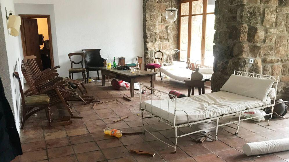 Foto: Las imágenes del chalé alquilado en Airbnb tras una noche de juerga