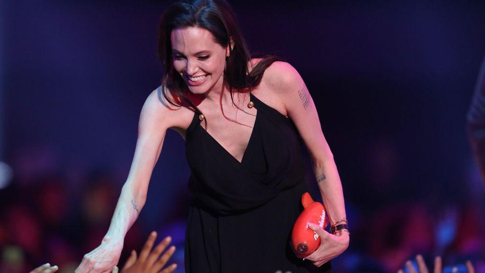La emotiva reaparición de Angelina Jolie tras su operación de ovarios