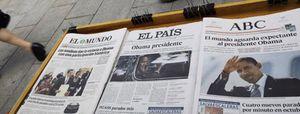 Las ventas de 'El País' y 'El Mundo' vuelven a caer más de un 11% en noviembre