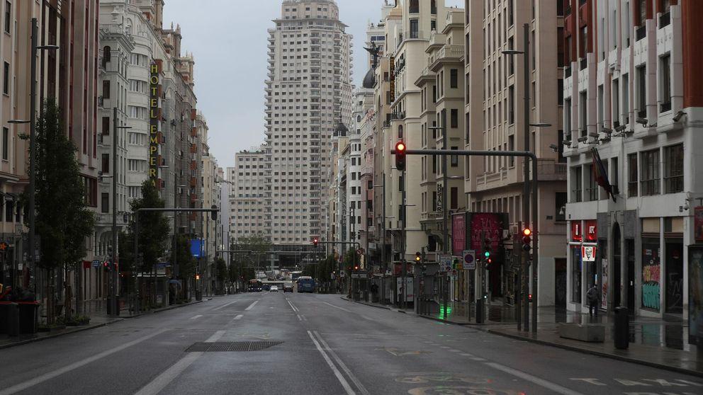 Madrid pierde el 61% de su producción cada día de confinamiento por el Covid