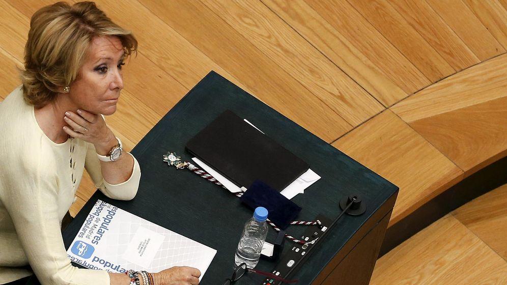 Foto: La presidenta del PP de Madrid, Esperanza Aguirre. (EFE).