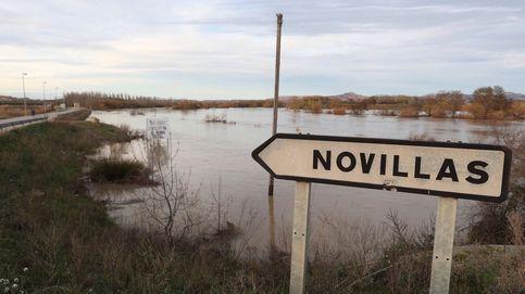Zaragoza recibe la crecida del Ebro sin incidencias y con evacuaciones preventivas