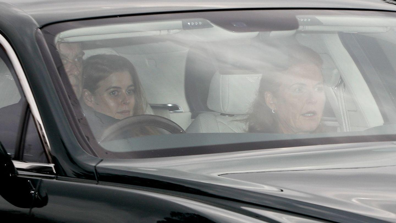 Sarah Ferguson llegando a Windsor. (Reuters)