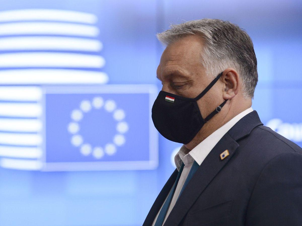 Foto: El primer ministro húngaro, Viktor Orbán, en Bruselas. (EFE)