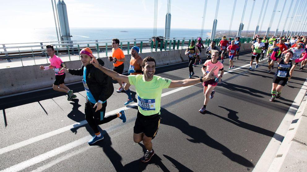 Los ejecutivos españoles se recrean en el maratón de Nueva York