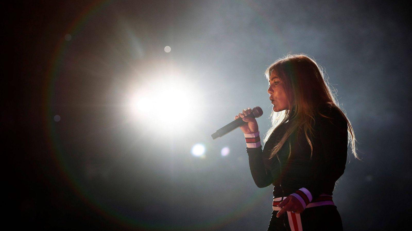 Foto:  Amaia montero, en una imagen de concierto. (Gtres)