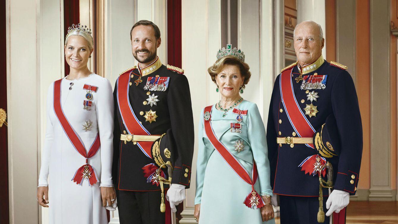Foto: La familia real noruega en una imagen oficial (Kongehuset)