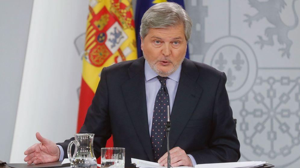 Foto: El ministro portavoz Íñigo Méndez de Vigo