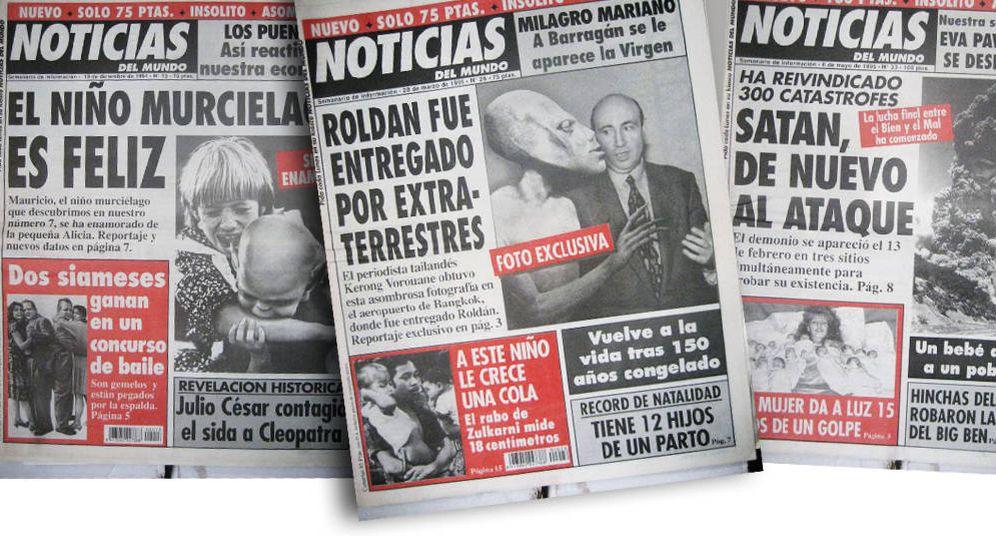 Foto: Selección de portadas de 'Noticias del Mundo'. (Imagen: EC)