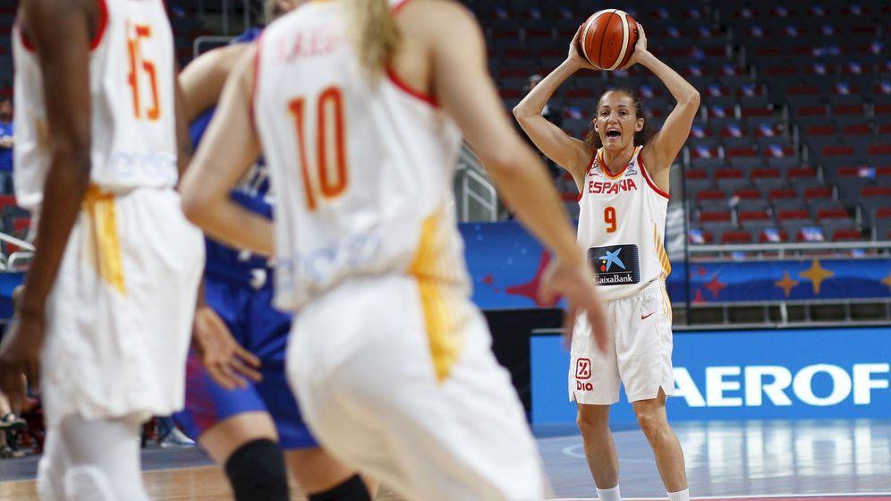 Foto: Laia Palau en la final del Eurobasket. (EFE)