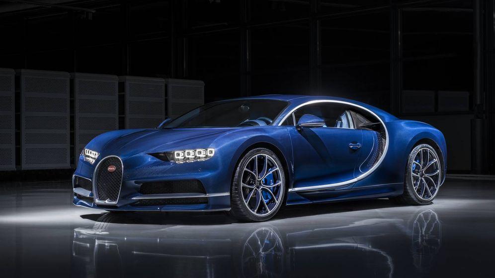 Foto: Este es el primer Bugatti Chiron fabricado.