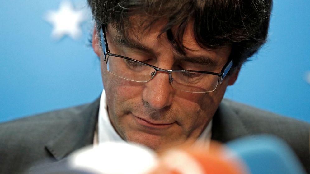 Foto: El expresidente del Govern Carles Puigdemont, el pasado martes en Bélgica. (Reuters)