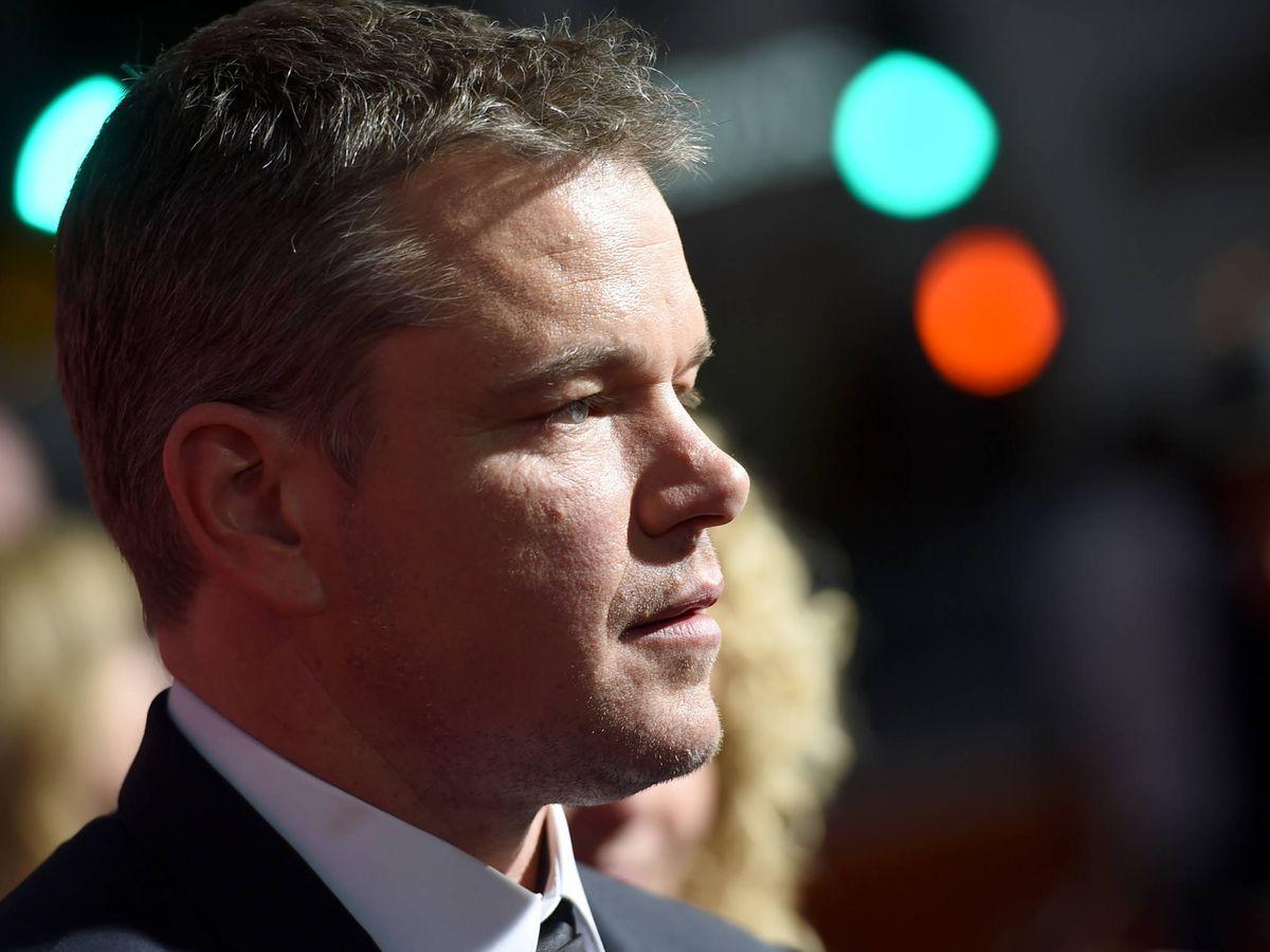 Foto:  Matt Damon cumple 50 años. (Getty)