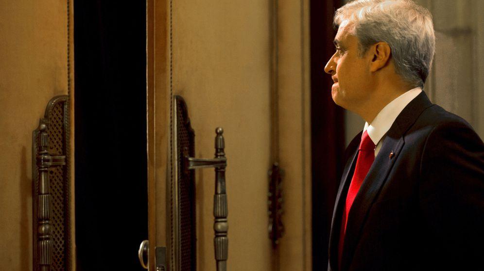 Foto: Germà Gordó en un pleno del Parlament en 2017. (EFE)