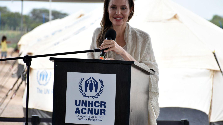 En la ciudad colombiana de Maicao, el año pasado, en una de sus acciones con ACNUR. (EFE)