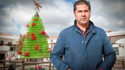 Un árbol de Navidad sin espumillón ni bolas (y ni falta que hace)