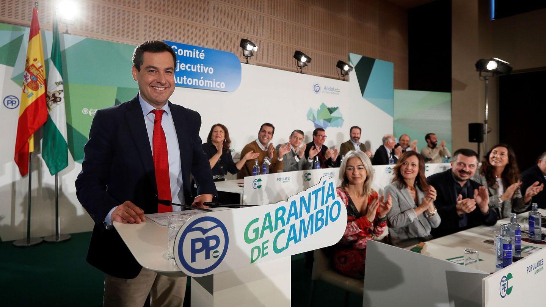 El líder del PP andaluz, Juanma Moreno. (EFE)