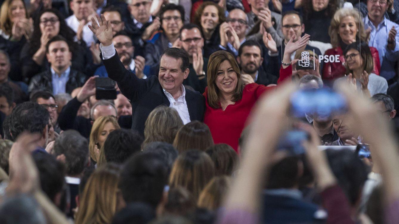 Foto: Susana Díaz lanza su precampaña para las primarias del PSOE en Madrid: Tengo fuerza, estoy animada, me encanta ganar