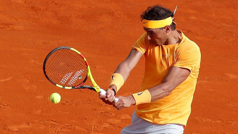 La suite de Nadal en Montecarlo inaugurada con Alberto III y su chinita a Federer