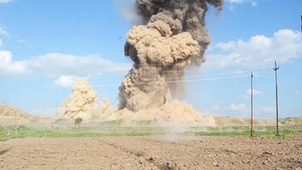 El Estado Islámico destruye y vuela la histórica ciudad asiria de Nimrod